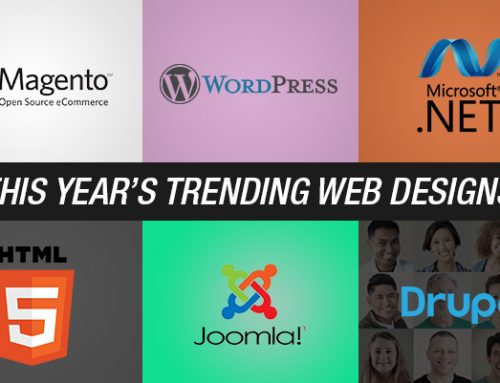 This Year's Trending Web Designs
