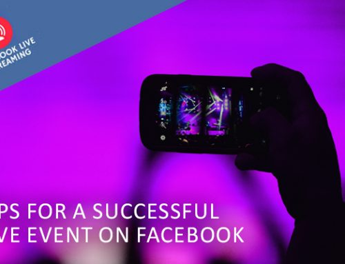 For a Successful Live Event on Facebook