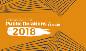 Public Relations Trends in 2018